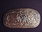 Minahasa Tribe Belt Buckle !