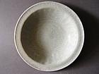 A Song - Yuan  Longquan ware  Guan glazed Celadon dish