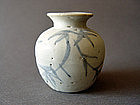Late Yuan - early Ming Dynasty blue and white Jarlet