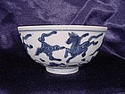 Ming Jiajing Dynasty blue and white bowl !