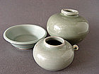 A group of three excellent Longquan Celadons