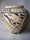Large Song - Yuan Dy. Cizhou painted jar !
