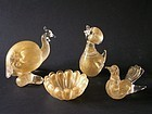 Stylized Murano glass collection by Archimede Seguso