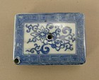 Japanese Water Dropper Blue Decoration Circa 1910