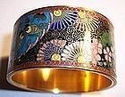 Japanese Cloisonne Enamel Napkin Ring Kyoto Jippo