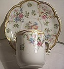 Antique Haviland China Cup & Saucer Schleiger # 72