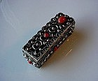 800 SILVER LADIES LIPSTICK CASE MULTIPLE PCS CORAL