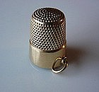 14K THIMBLE CHARM ESTATE PIECE ca. 1925