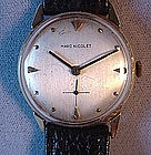 Gent's 14K MARC NICOLET Wrist Watch