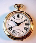 SWISS MADE BREVET LEXINGTON ALARM POCKET WATCH