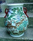 CHINESE PORCELAIN HUNDRED DEER VASE