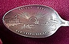 Ster GOLDEN GATE CAL.SOUVENIR SPOON