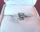 1.88 DIAMOND  ENGAGMENTNT RING {Bonanno Appraisal