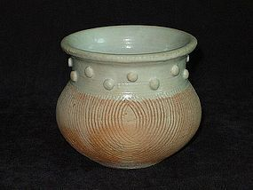 Yuan Dynasty - Qingpai Measure Jar