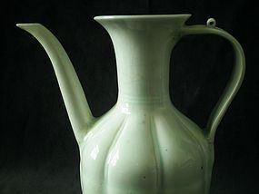 SONG DYANSTY - QINGBAI / YINGQING MELON SHAPED EWER
