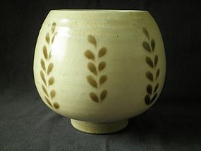 LIAO DYNASTY - CIZHOU GLAZED BUD FORM WATERPOT