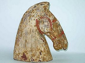 Han Dynasty - Funerary Pottery Horse Head