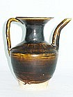 Yuan Dynasty - Dark Glazed Ewer