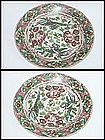 Ming Dynasty - Swatow Duck and Flower Motif Dish