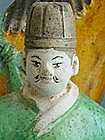 Ming Dynasty - Funerary Sancai Glazed Groom and Horse