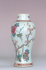 Chinese Famille Rose Vase, 18th Century