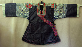 Chinese Ethnic Minority Miao Batik Embroidered Jacket