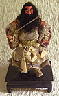 Musha Ningyo Japanese Doll Shoki the Demon Queller