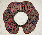 Antique Chinese Ethnic Minority Miao Child cloud collar