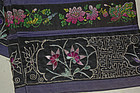 Rare Antique Pair Chinese leggings worn with Lotus shoe