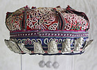 Chinese Ethnic Minority Child hat with silver ornaments