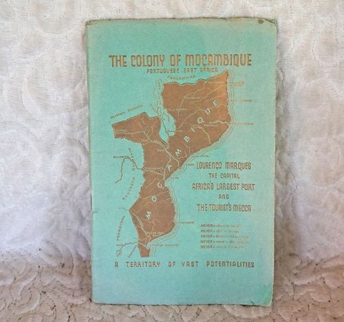 Old Tourist Travel Booklet of Mozambique (item #1404413)