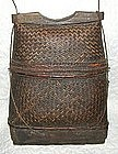Large Indonesian Man's woven basket Purse from Balika
