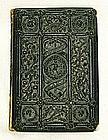 1st edition rare illuminated book papier-mache binding