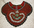 Large Elaborate Coral Beaded Tibetan Collar Breastplate