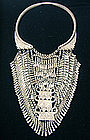 Hmong Ethnic Minority Pure Silver Lock Necklace