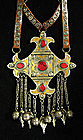 Very large Teke Turkomen pendant necklace