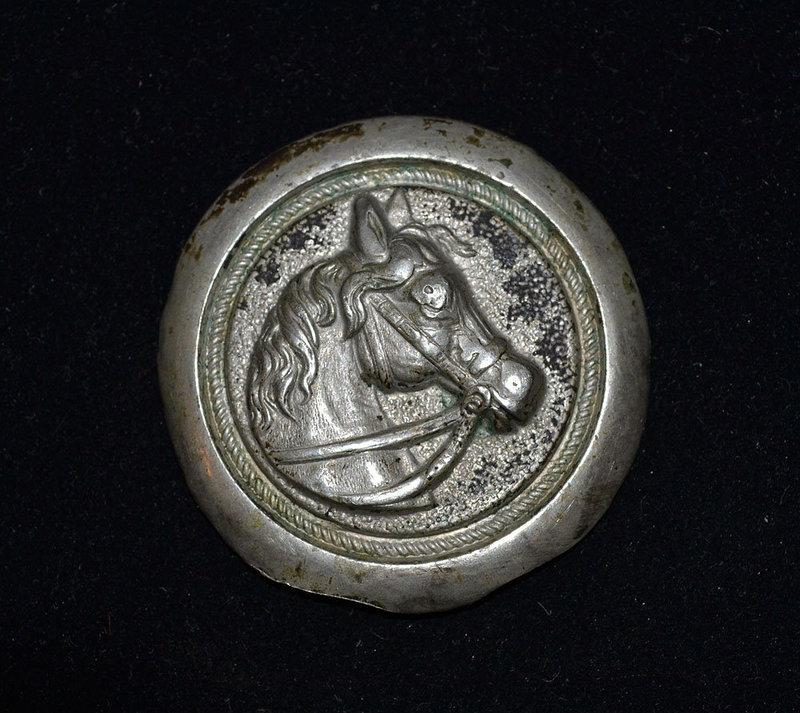 AN ANCIENT ROMAN SILVER PHALERA