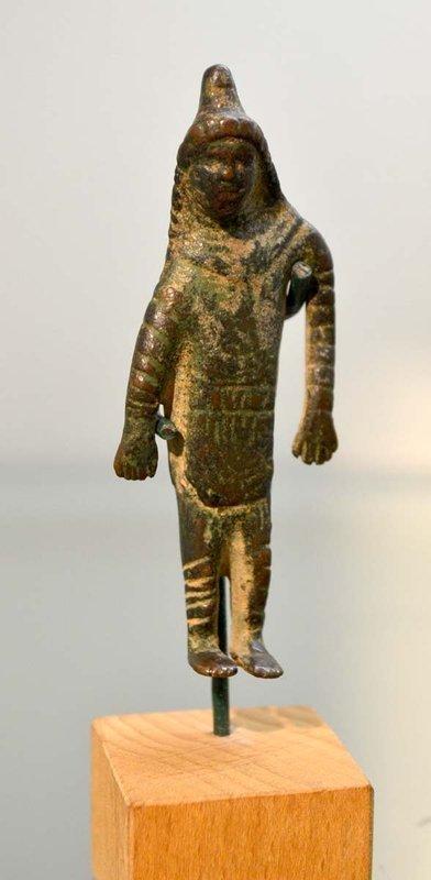 AN ANCIENT GRAECO-ROMAN BRONZE MITHRAS