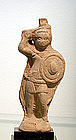 AN ALEXANDRIAN FIGURE OF A WARRIOR