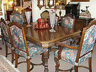 Tobey Walnut Dining Set