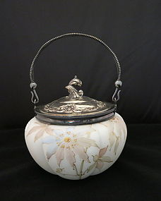 Mt Washington Biscuit Jar Melon Shaped