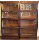 Pair of Mahogany Stacking Bookcases