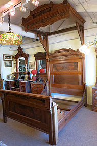 Victorian Half Tester Bedroom Set