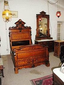 Victorian Renaissance Revival Bedroom Set