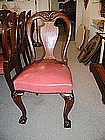 Set of Twelve American Mahogany Dining Room Chairs