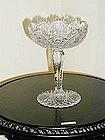 Brilliant Period Cut Glass Compote