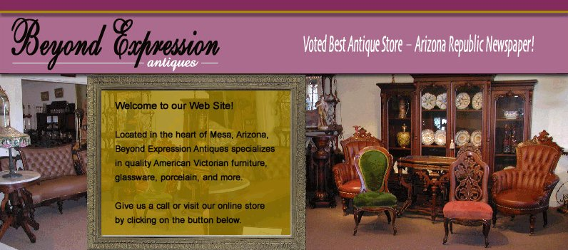 American Victorian Furniture at Beyond Expression Antiques