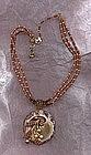 Miriam Haskell Pendant Necklace