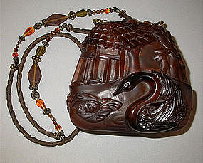 ORIENTAL SWAN PURSE BY MAYA :  handbag purse contest1 maya