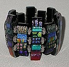 MICHELE McMANUS GLASS BRACELET